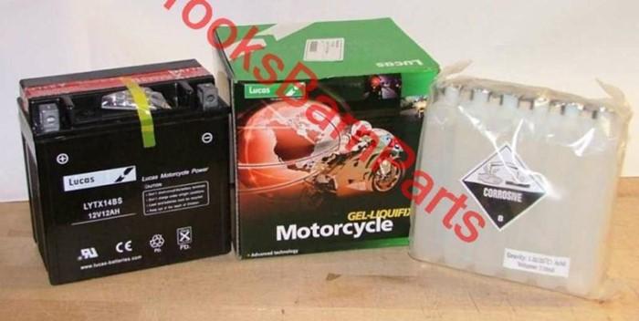 LUCAS Batteries for Harley Davidson VRSD V-ROD 02-07