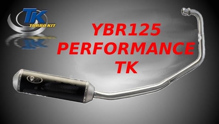 Ybr125 Turbo Kit Escape Road Exhaust