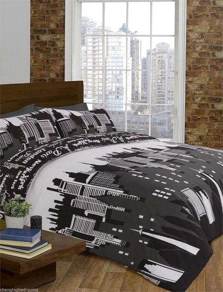 Cityscape Bedding 28 Images Changingbedrooms Com King Size Retro London New York Batman