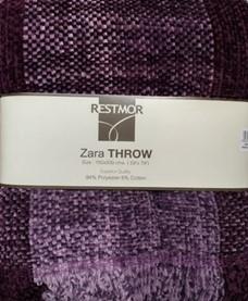 Changingbedrooms Com Multi Purple Plum Aubergine Zara