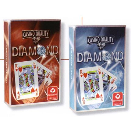 2 packs  - Diamond - Casino Quality Playing cards - Bridge size
