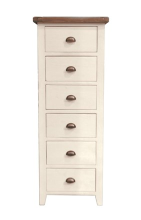 6 DRAWER TALL CHEST - Cotswold Bedroom Furniture