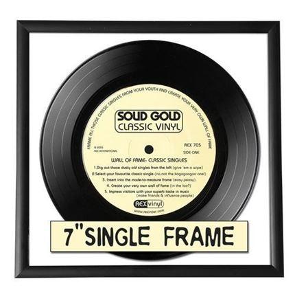 "6x 7"" Single Record Frames"