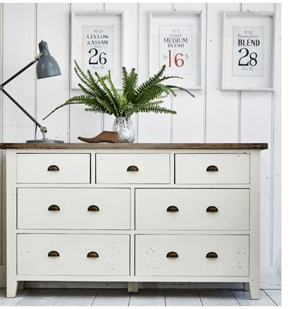 7 DRAWER WIDE CHEST - Cotswold Bedroom Furniture