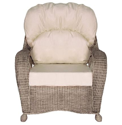 Ankara Chair - White Wash by Pacific Lifestyle