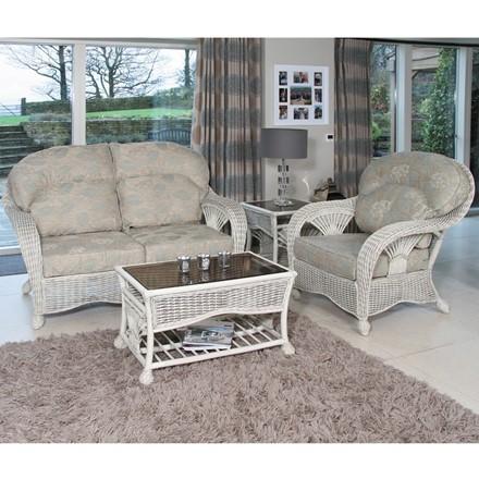 Ankara White Wash - Cane furniture by Pacific Lifestyle (habasco)
