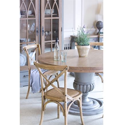Athena Round Dining Table 137cm - Hardy Dining Furniture