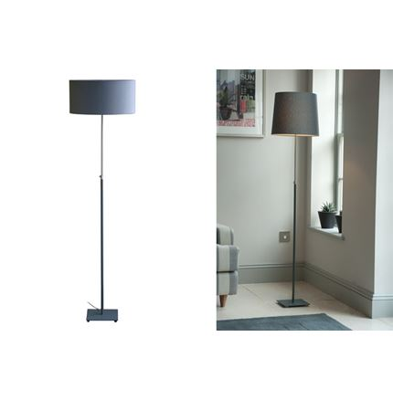 Baltic Floor Lamp - Dark Grey - With Cone Shade only