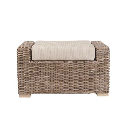 Bath Footstool - Cane Furniture by Desser