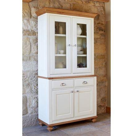 CLEARANCE OFFER - Salisbury Dresser - Narrow Sideboard with Dresser Top