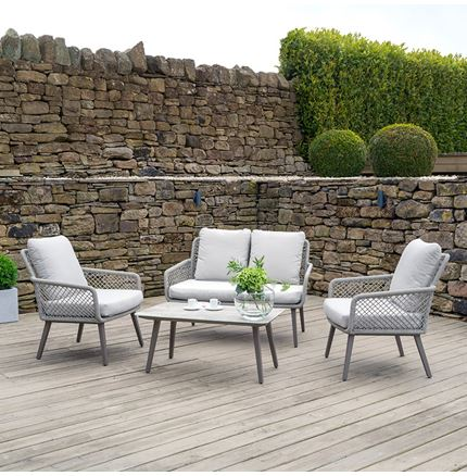 Cagliari 4 Piece Seating Set - Outdoor Rattan Furniture