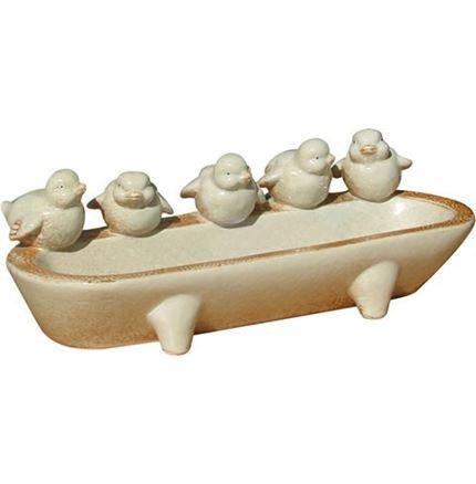 Ceramic Bird Feeder / bath