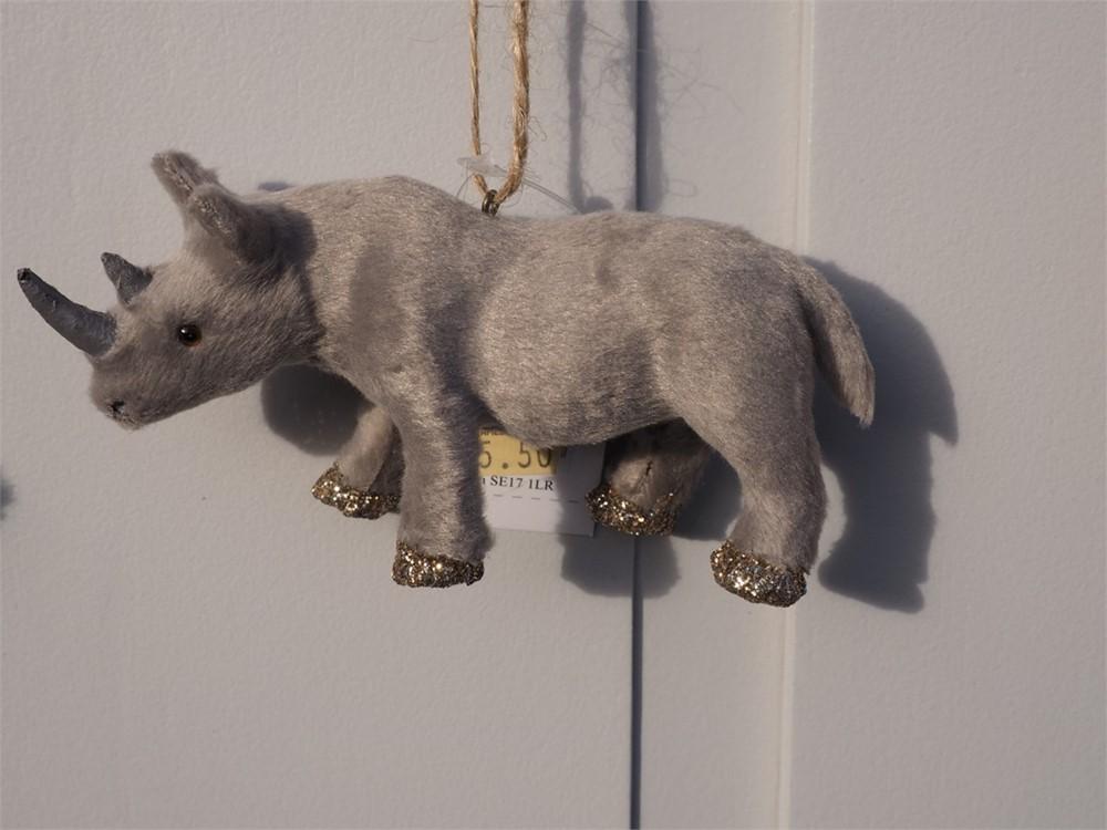 Christmas Decoration - Rhino