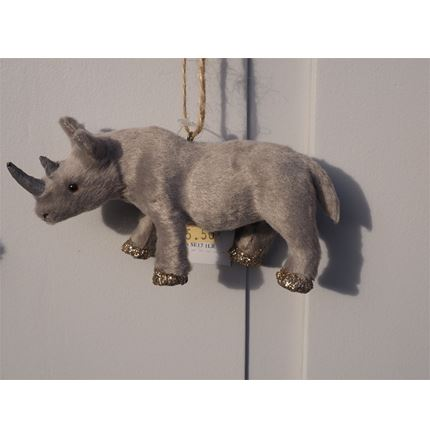 Christmas Decoration - Rhino