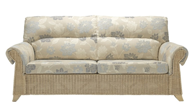 Clifton 3 seater sofa - Cane Furniture by Desser