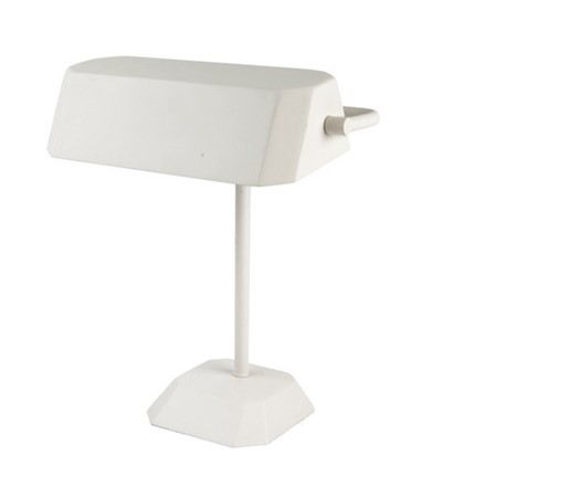 Desk Table Lamp - White - bankers style