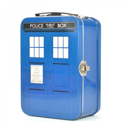 Gadget Tin - Tin Tote (Tall) - Dr Who Tardis