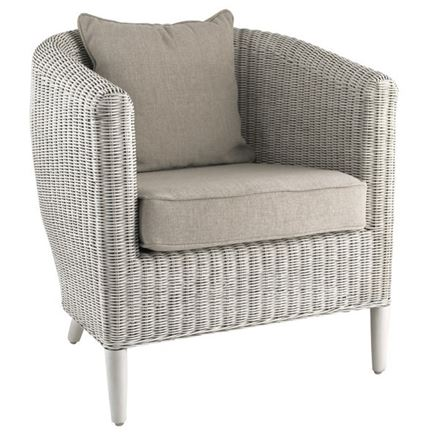 Havana Chair - White Wash by Pacific Lifestyle