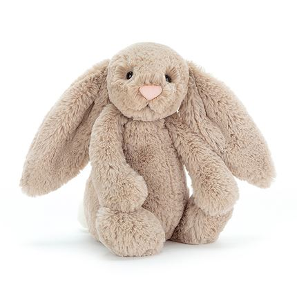 Jellycat soft toy - Bashful Beige Bunny - Small