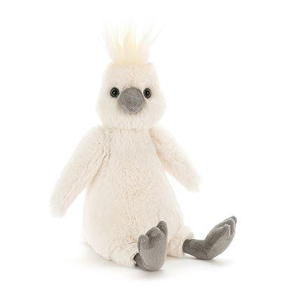 Jellycat soft toy - Bashful Cockatoo - Small