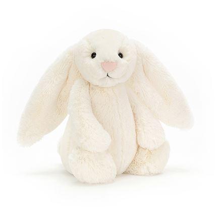 Jellycat soft toy - Bashful Cream Bunny - Medium