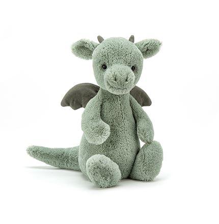 Jellycat soft toy - Bashful Dragon - Small