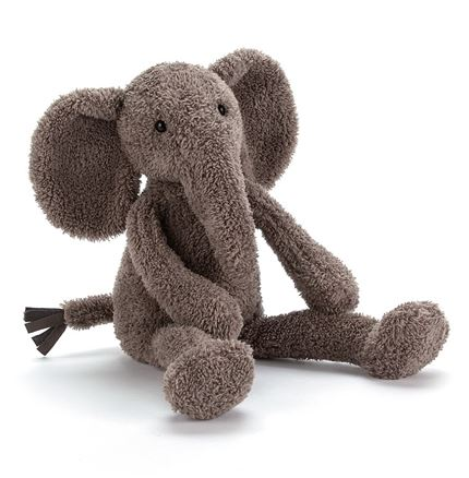 Jellycat soft toy - Slackajack Elephant - Small