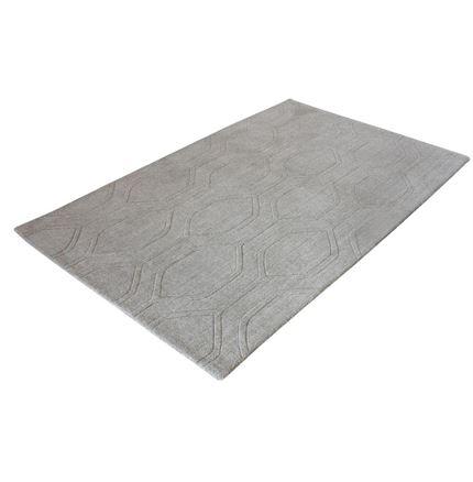 Leo Grey wool rug - 160 x 230cm