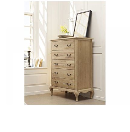 Maison Bedroom Furniture - 5 Drawer Tall Chest