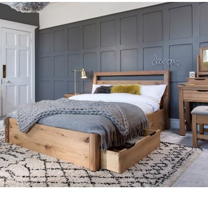 Milan Bedroom Furniture - 135 Bed