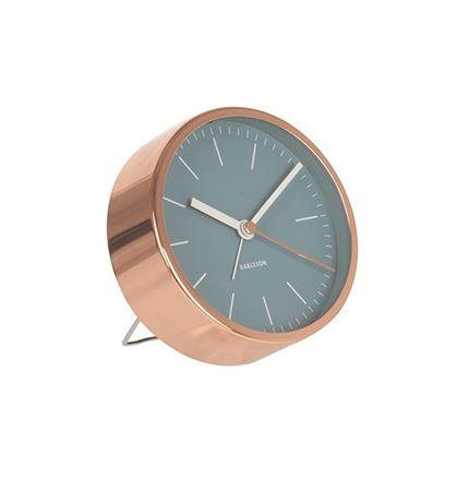 Minimal Clock - Blue
