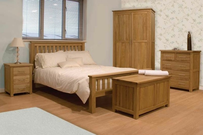 Opus Solid Oak Bedroom Range (HS)