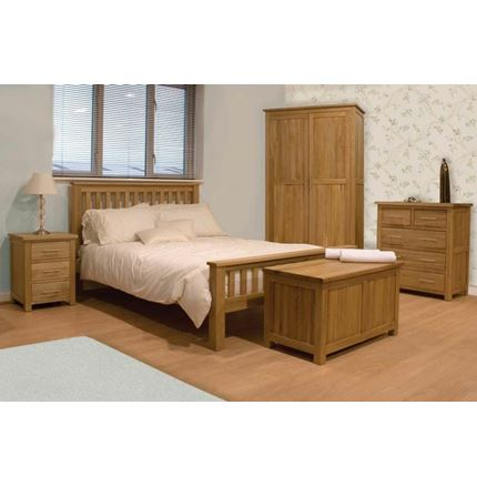 Opus Solid Oak Bedroom Range (HS)