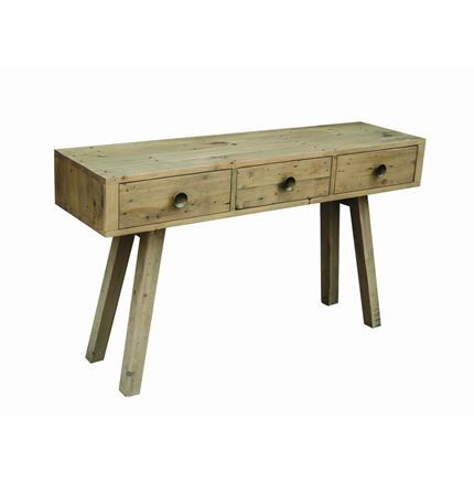Rustica Dining Furniture - Console table with 3 drawers