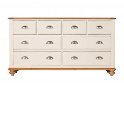 Salisbury Bedroom Furniture - 8 Drawer wide Chest