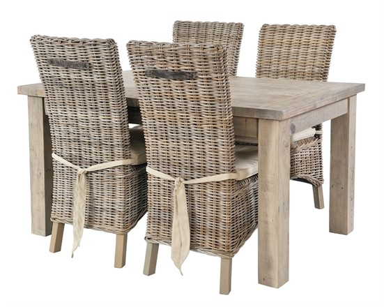 Saltash Dining Furniture - Extending Dining Table 140 (ext-190)