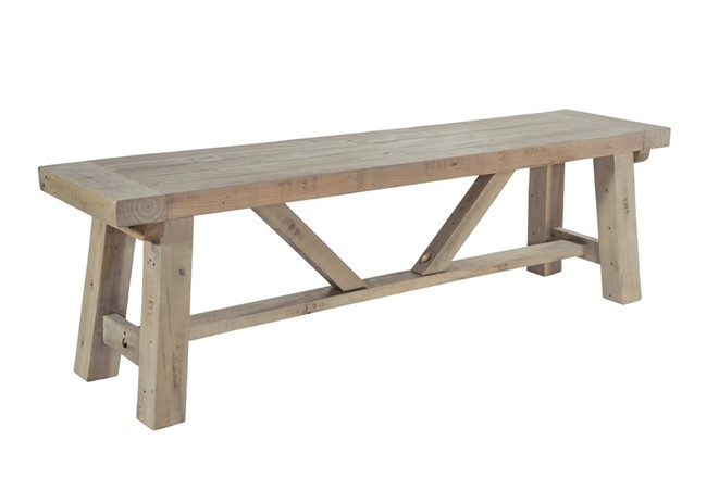 Saltash Dining Furniture - Small Bench 140cm