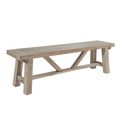 Saltash Dining Furniture - Small Bench 140cm