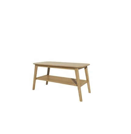 Scandic Coffee Table 36x18 inches - Solid Oak