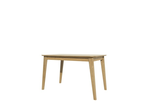 Scandic Dining Table 125cm - Solid Oak