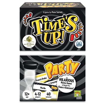 Time's Up Party Game (UK Edition), Mixed Colours