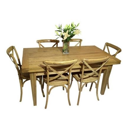 Valence Dining Table 160 Extending