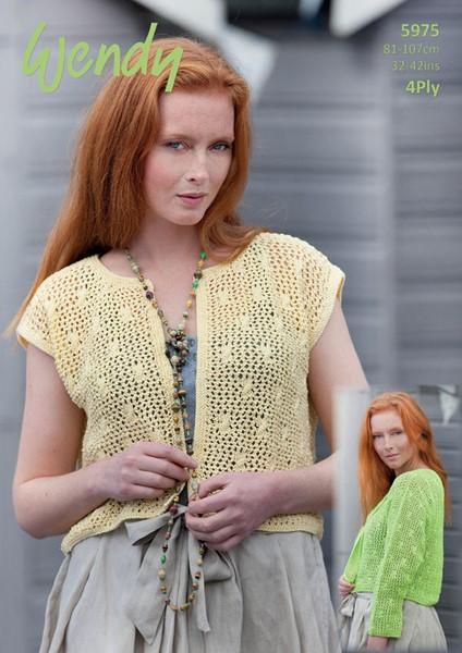 Wendy Supreme Cotton 60ply Crochet Pattern W60 Mesmerizing Cotton Crochet Patterns