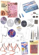 Jewellers Tools Bead Stringing and Jewellery Making Kit 1 (click for larger image)